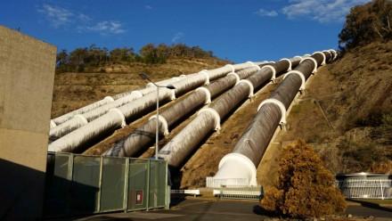 Snowy Hydro's Tumut 3 PSH project: Image, Jamie Pittock ANU
