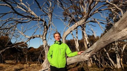 ANU environmental researcher Matthew Brookhouse.