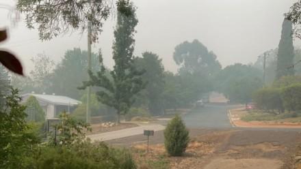 Image of Bushfire smoke in Lyneham, Canberra