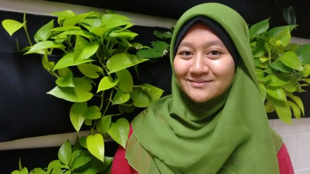 Jasmin and the Vertical Greenery System