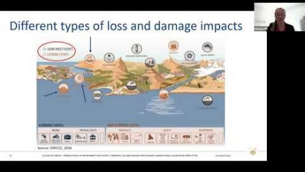 PhD Seminar - Financing loss and damage from climate change in Small Island Developing States