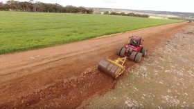 Rocks being removed to make way for farming. YouTube